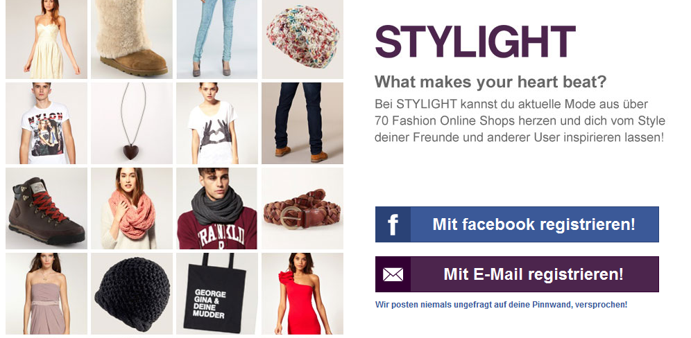 Stylight Fashion Community - Join