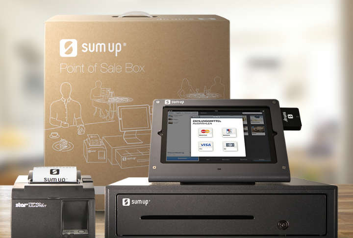 SumUp Point of Sale Box