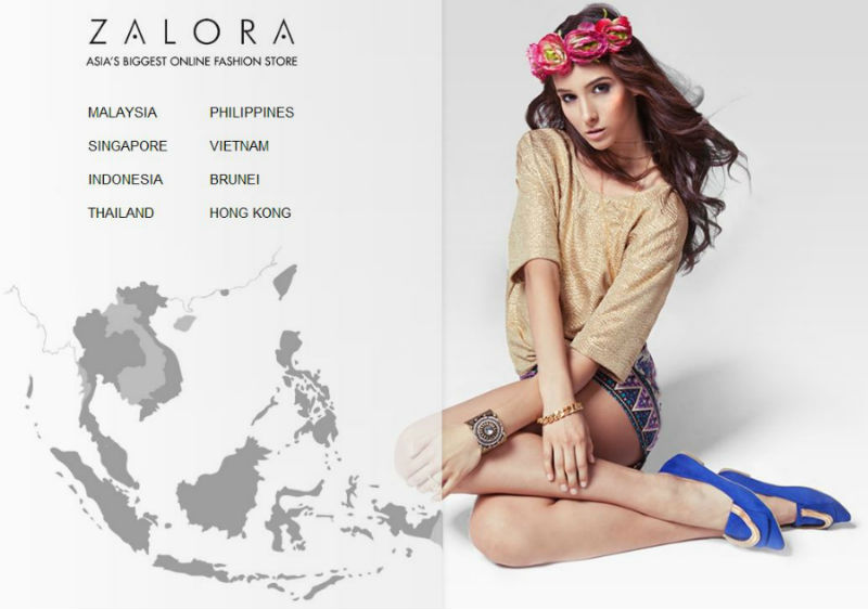 Zalora.com Screenshot
