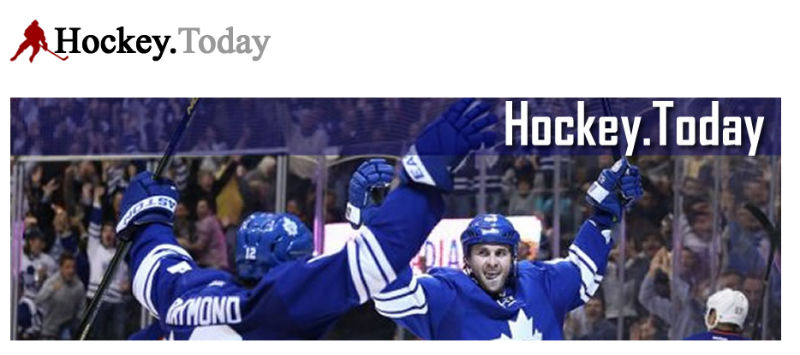 Screenshot der Webseite Hockey.Today