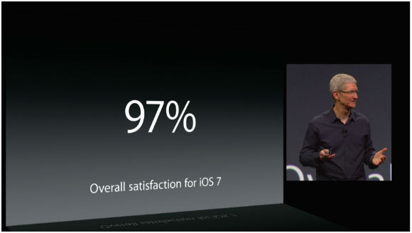 Screenshot WWDC14live Customer Satisfaction